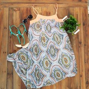 Xhilaration print maxi dress